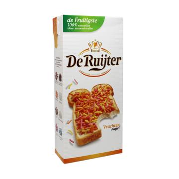 De Ruijter Vruchten Hagel 400g/ Virutas Colores