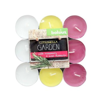Bolsius Outdoor Citronella&Rosemary x18/ Velas Té
