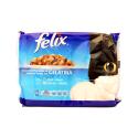 Felix Vis 4x100g/ Comida Gatos Salmón y Atún