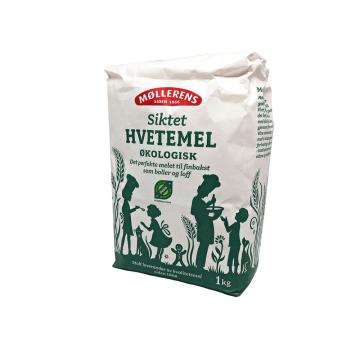 Møllerens Siktet Hvetemel Økologisk / Harina de Trigo Tamizada Ecológica 1Kg