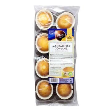Diet Rádisson Magdalenas de Maíz Sin Gluten 190g/ Gluten Free Cakes