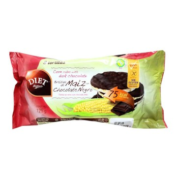 Diet Rádisson Tortitas de Maíz Chocolate Negro 125g