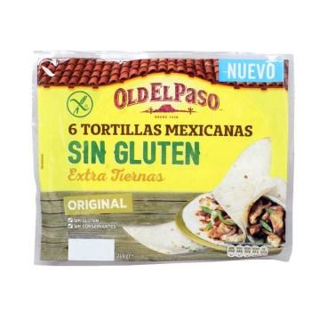Old El Paso Tortillas Mexicanas Sin Gluten x6/ Gluten Free Tortillas