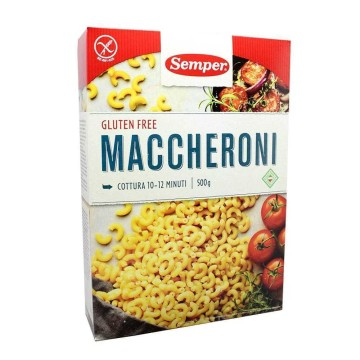 Semper Makaroner Gluten Free 500g/ Gluten Free Macaroni