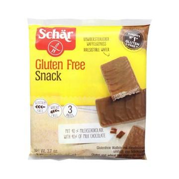 Schär Snack Wafers Glutenfrei 105g/ Barquillos Sin Gluten