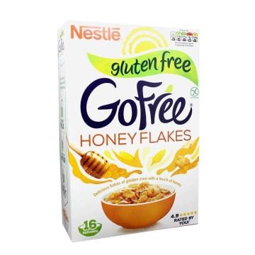 Nestlé GoFree Honey Flakes Gluten Free 500g/ Cereales Miel Sin Gluten