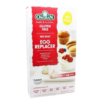 Orgran Gluten Free Egg Replacer 200g/ Sustituto del Huevo Sin Gluten