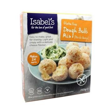 Isabel's Gluten Free Dough Balls Mix 250g/ Preparado Pan Queso Sin Gluten