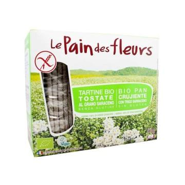Le Pain des Fleurs Pan Crujiente Sin Gluten 150g/ Gluten Free Crisp Bread