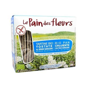 Le Pain des Fleurs Pan Crujiente Sin Gluten 150g/ Gluten Free Crispy Bread