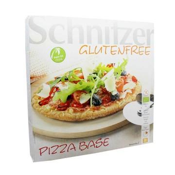 Schnitzer Base de Pizza Sin Gluten x3/ Gluten Free Pizza Base