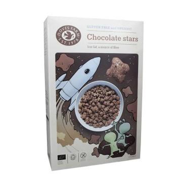 Doves Farm Gluten Free Choco Stars 375g/ Cereales Choco Sin Gluten