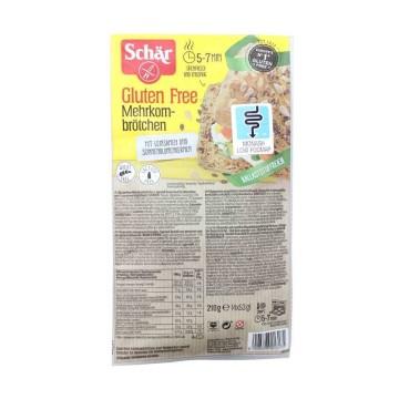 Schär Mehrkornbrötchen Glutenfrei 210g/ Pan Sin Gluten
