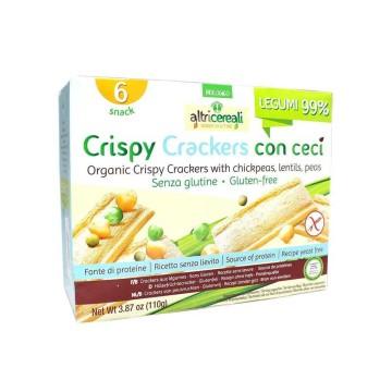 Altricereali Tostadas de Legumbres Sin Gluten 110g/ Gluten Free Veggie Toasts