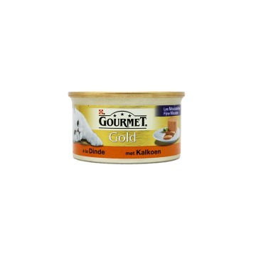 Gourmet Gold Met Kalkoen 85g/ Cat food Turkey