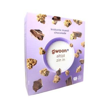 Gwoon Krokante Muesli Chocolade 650g/ Muesli with Chocolate