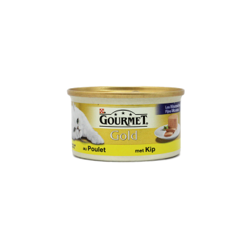 Gourmet Gold Mousse Met Kip 85g/ Cat food Chicken Mousse