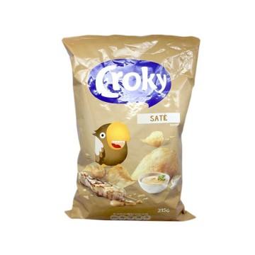 Croky Saté Chips 215g/ Patatas Fritas