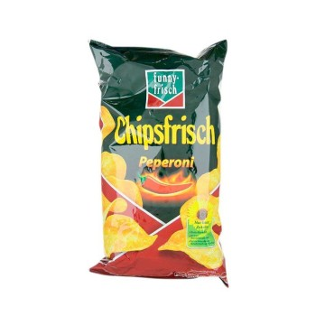 Funny-Frisch Chipsfrisch Pepperoni 175g/ Potato Chips