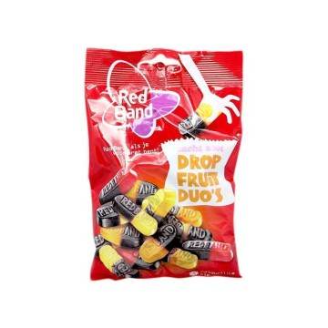 Red Band Dropfruit Duo's 166g/ Golosinas Sabor Fruta y Regaliz