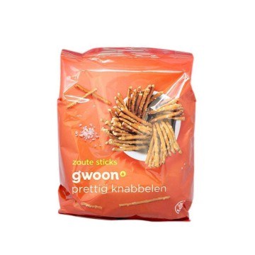 Gwoon Zoute Sticks 250g/ Salted Sticks