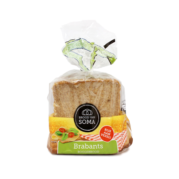 Brood Van Soma Brabants Rogge 400g/ Whole grain Rye Bread